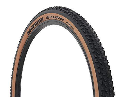 Massi Storm Pro, Deportes al Aire Libre, neumaticos,Bicicleta,Cubiertas, Negro/Marron, 29 x 2.25