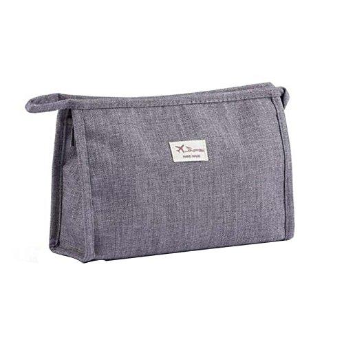 Zipper Voyage Maquillage Case Cosmétique Sac Cosmétique Pouch Portable Simple Maquillage Bag