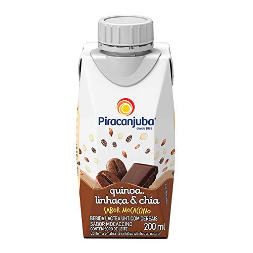 Bebida Láctea Quinoa Linhaça e Chia Sabor Mocaccino Piracanjuba 200ml