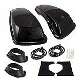 Metra Saddle Tramp - Harley-Davidson 2014-Up Saddlebag Covers w/ 6x9 Speaker Adaptors, Saddlebag Replacement Covers & Seat Heater (BC-HD69-14U)