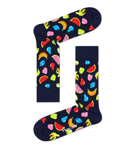 Happy Socks Calcetines Navy Socks Gift Set 4-Pack Gift Box Coloridas y Alegres para Hombre y Mujer - Algodón- talla 36-40
