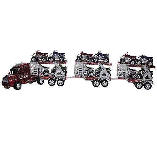 Claudio Reig- Camión Remolque con 12 quads (9874)