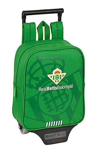 safta Mochila Guardería con Carro Real Betis Balompié, 220x100x270 mm