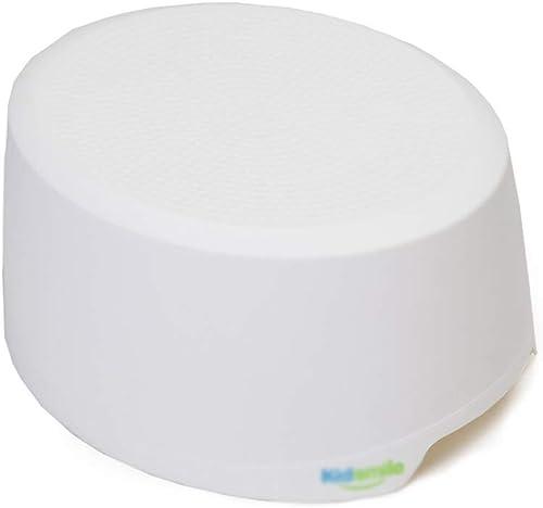 CJX-Step Stools Taburete del baño, Taburete de Pasos del Niño Durable Fácil de Limpiar Taburete casero Taburete plástico Adulto Taburete Antideslizante Antideslizante (Color   blanco)