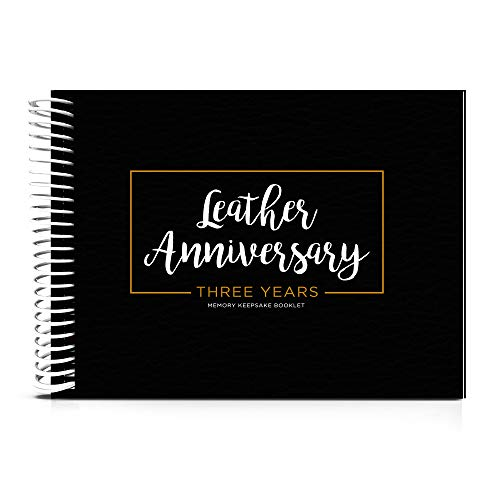 Anniversary Book - A Hardcover Wedding Memory Album to Document Your 3rd...