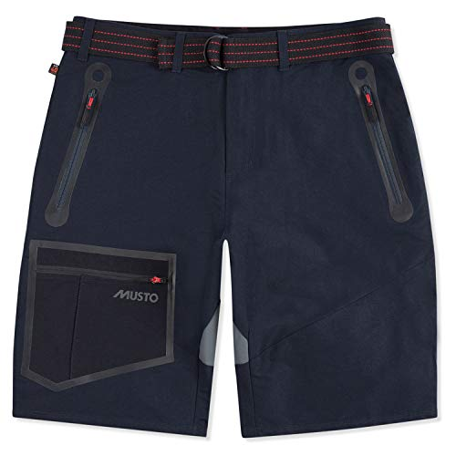 Musto Evolution Blade Technical Bordshorts Farbe Navy, Größe H: 38