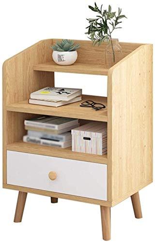 File cabinets Nachttisch Nachttisch Haushalt Schlafzimmer Einzelpumpe Montage Korridor Badezimmer Aufbewahrungsbox Wohnzimmer Schließfach 37 x 30 x 60 cm Beistelltisch (Farbe: Holzfarbe)