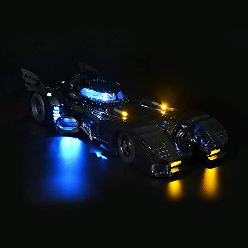 T-Club Led Light Kit Lights Set for Lego DC Batman 1989 Batmobile 76139 Building Kit (Not Include Lego Model) (No RC)