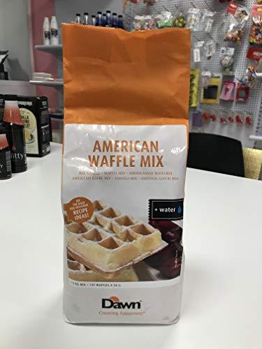 Waffle mix mezcla de gofre americano bolsa de 3.5kg