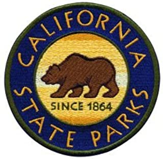CALIFORNIA STATE PARKS BEAR IN CENTER PATCH - 4