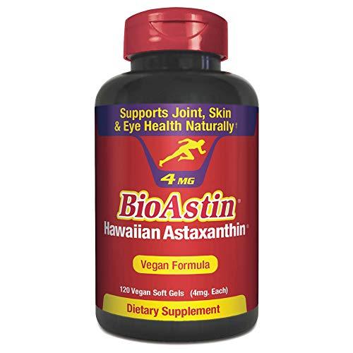BioAstin Hawaiian Astaxanthin Vegan - 4mg, 120 Count -