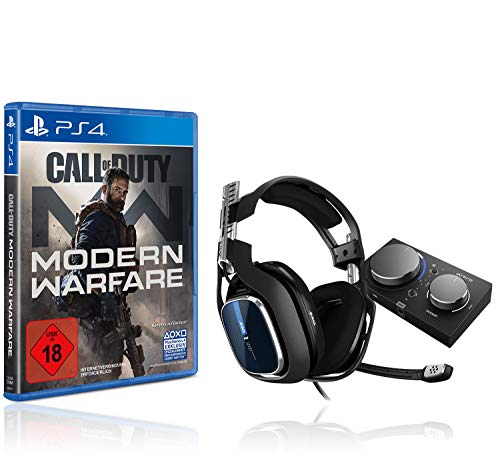 ASTRO A40 TR Gaming-Headsest inkl. MixAmp Pro Adapter [PC/Mac/PS4] + Call of Duty: Modern Warfare - [PlayStation 4]