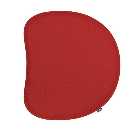 ikarus Sitzkissen 2-lagig kirschrot passend zum Panton Stuhl