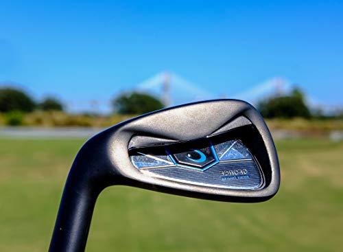 GForce Golf LEFT HAND Swing Trainer 7 Iron Voted GolfWRX Top Training Aid PGA Support Centre Free PGA Training Videos On YouTube Trusted on Tour By 1000s of Amateurs