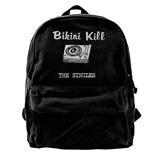 Camping Tourism School Wild Fashion Canvas Bikini Kill Backpack