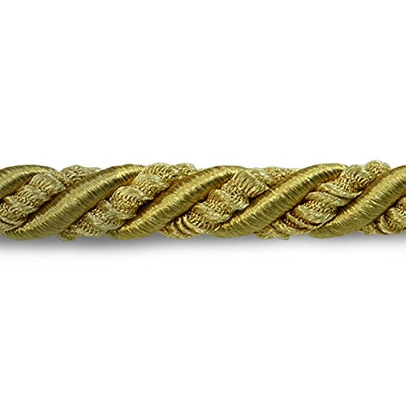 Expo International 5/16-Inch Lesley Decorative Cord Trim Embellishment, 20-Yard, Gold