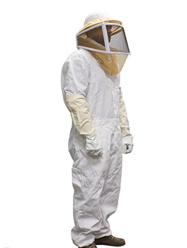 Complete Bee Keeper Suit Helmet Pants Gloves Pest Control bee wasps hornets yellow jackets etc.....