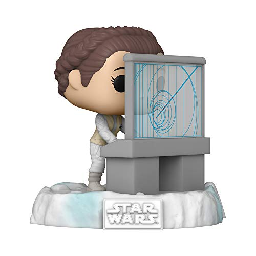 Funko Pop! Deluxe: Star Wars Battle at Echo Base Series - Princess Leia Vinyl Figure, Amazon Exclusive, Figure 5 of 6