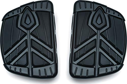 Kuryakyn 5653 Motorcycle Foot Control Component: Spear Mini Board Floorboards, Satin Black, 1 Pair