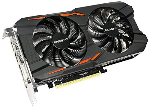 GIGABYTE NVIDIA GeForce GTX 1050 Ti WINDFORCE OC 4 G...