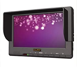 """LILLIPUT 7"""" 667GL-70NP/H/Y Field Monitor ON HD Camera with HDMI Input +HOT Shoe Mount+DU21 Battery and Charger by VIVITEQ"""