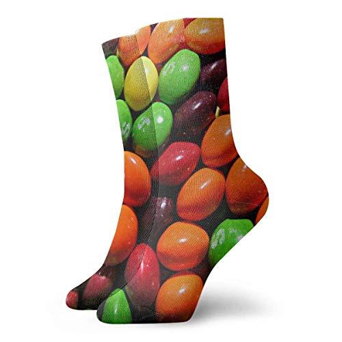 QUEMIN Unisex Crazy Socks Kegeln 3D Neuheit Crew Socken