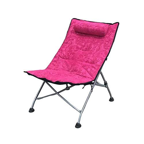 GYH Chaise pliante Bureau Lounge Chair-Chaise Pliante Creative Lunch Break Chair Balcon Chaise Longue Salon Extérieur Beach Lounge chaise @@ (Couleur : B)