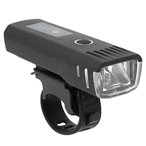 En tiempo real que muestra la luz de la bici conveniente del poder más elevado inteligente del sensor USB de la lámpara de la bici de carga USB de la bicicleta