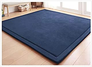 Children Play Mat, V-mix Handmade weaving Plush Foam Play Crawling Rugs for Baby, Toddler, and Children Play Blanket, Yoga Mat, Exercise Mat-Cushy- Soft & Thick Hypoallergenic, Non-toxic, Reversible