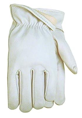 American Made Top Grain Goatskin Leather Unlined Work Glove