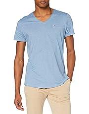 Tommy Jeans DM0DM08740 Col V T-Shirt - Homme