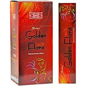 Golden Balaji/joss/incienso Flora palos Agarbatti (12 unidades x 15 palillos)