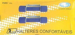 Aparelho de Ginastica - Par de Halteres Confortáveis - Codigo EF 6003