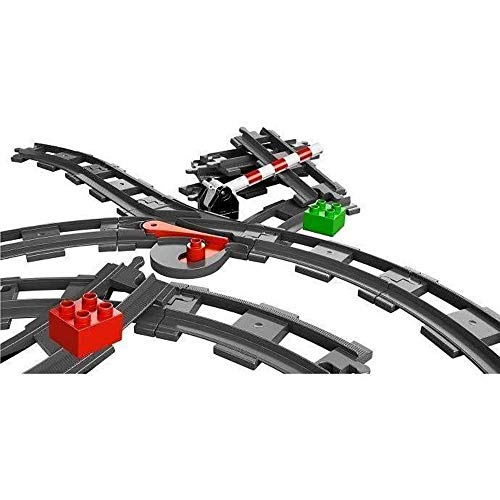 LEGO duplo Set Accessori Ferrovia, Multicolore, 10506