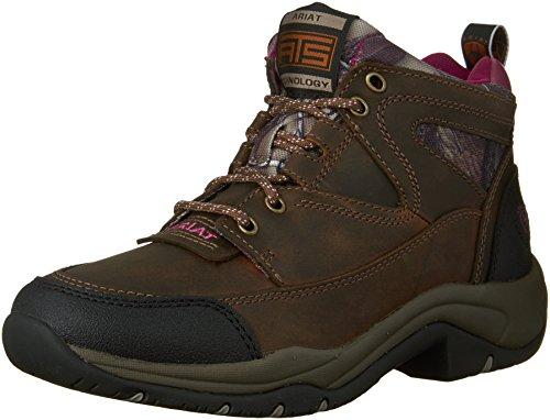 Ariat Women's Terrain Hiking Boot, Pink Multi/True Timber, 9.5 M US