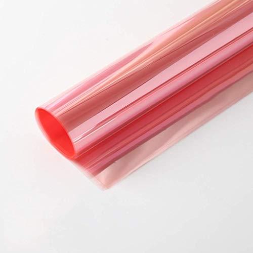 ZXL Gekleurd cellofaan, Valentijnsdag inpakpapier Halloween praline Transparant inpakpapier 10 stuks Dubbelzijdige verpakking (Kleur: Zwart, Grootte: 58 * 58CM)