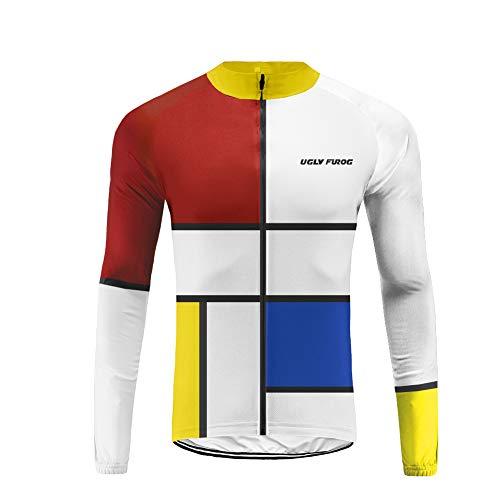 Uglyfrog Fahrradtrikot Kurzarm Team/Radtrikot/Jersey/Atmungsaktiv/Schnelltrocknend/Reflektoren/Rennrad/Trikot