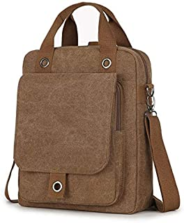 DHINGM Trend Korean Student Backpack, Fresh Student Bag, Personalized Creative Canvas Backpack Computer, Simple and Stylish, Easy to Carry, Stylish and Beautiful (Color : Khaki)