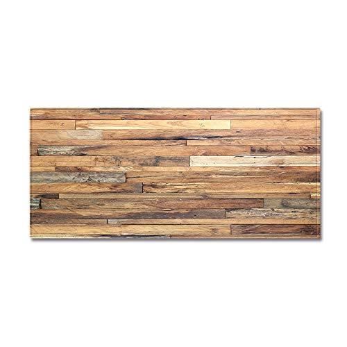 WIVION Küchenläufer Küchenteppich Teppich 100% Polyester rutschfest & Leicht Abwaschbar rutschfeste Teppich Für Küche Flur Waschbar rutschfest,B,40x120cm(16x47inch)