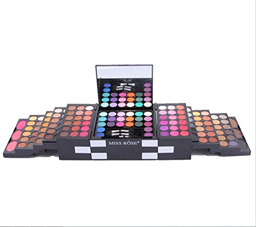 144 couleurs fard à paupières/3 couleur poudre/blush/3 couleur sourcil set maquillage maquilleuse spécial