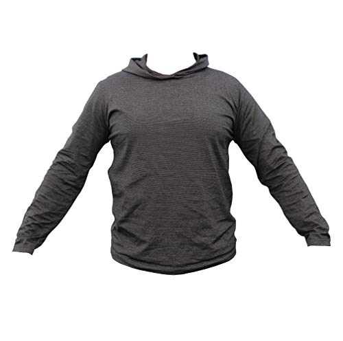 Men`s Hoodie With EMF Protection By BlocWave