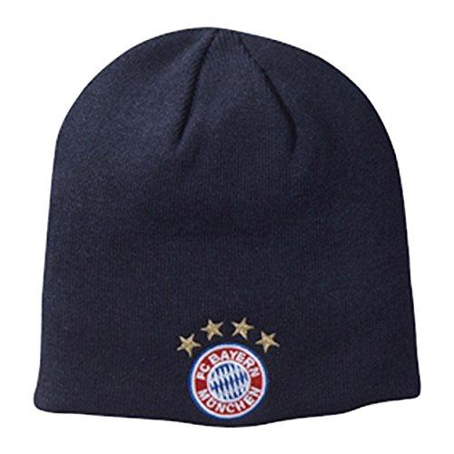FC Bayern München Kids Wendemütze Kinder Strick Mütze
