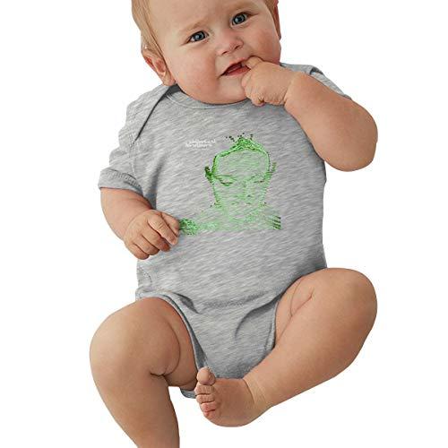Queen Elena Baby Jungen Mädchen Unisex Strampler Body The-Chemical Brothers Kleinkind Kawaii Jumpsuit Outfit 0-2T Kinder Gr. 12 Monate, grau