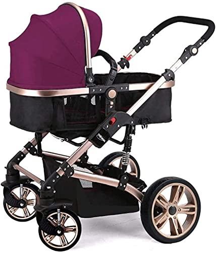 Cochecito de bebé Cochecito portátil Cochecito de cochecito de cochecito de carrito Sistemas de viaje, PROM CRABLE DE VIAJE Carrito plegable ligero y compacto desde el nacimiento hasta 25 kg para reci