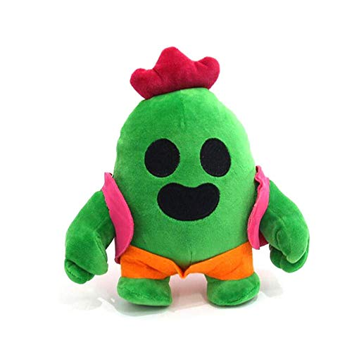 TOPCOMWW Cactus Plush Doll, Lindo Juego Spike Model Plush