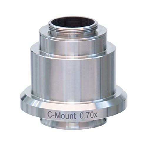 AmScope AD-C07-LC 0.7X RVS C-mount Camera Adapter voor Leica Microscopen