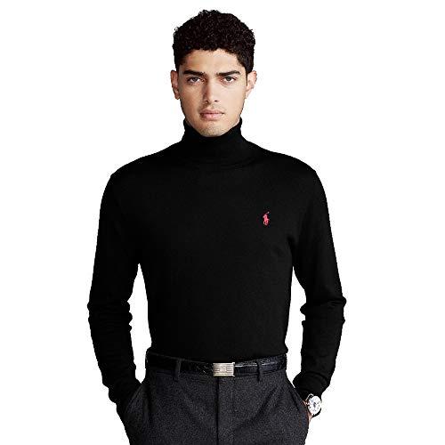 Polo Ralph Lauren Rollkragen Pullover (XL, Polo Black)