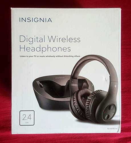 Insignia Wireless Over-the-Ear Headphone (Certified Refurbished)