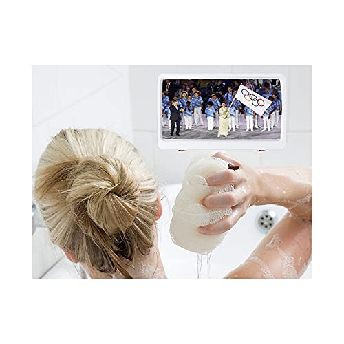 バスルーム防水電話ホルダー、タッチスクリーン防水防曇ウォールマウント電話ボックスケースカバーマジックシャワー電話ホルダー
