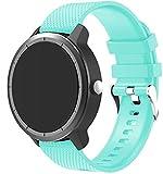 Simpleas Correa de Reloj Compatible con Amazfit Pace/Stratos/GTR 47mm, Impermeable Reemplazo Correas Reloj Silicona Banda (22mm,...